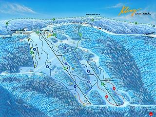 Skiareál Klíny