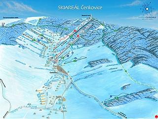 Skiareál Čenkovice