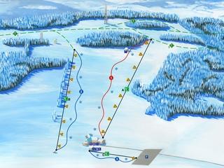 Skiareál Olešnice na Moravě
